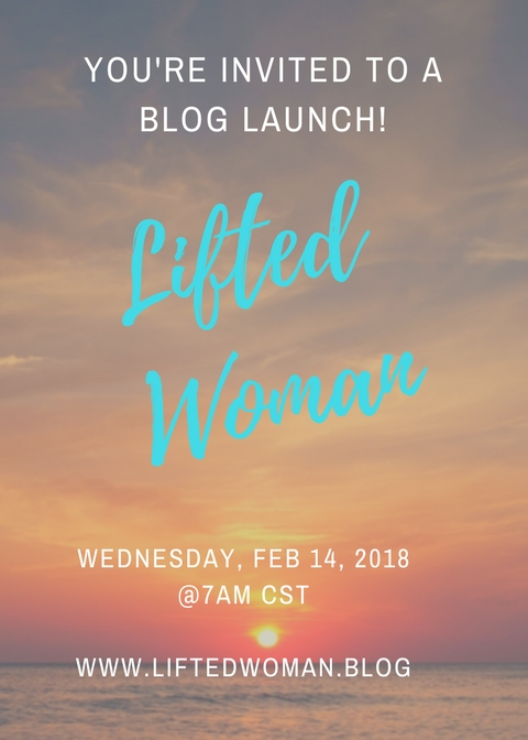 You're invited to a blog launch!