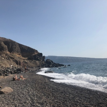 Beach (Oia, Santorini, Greece)