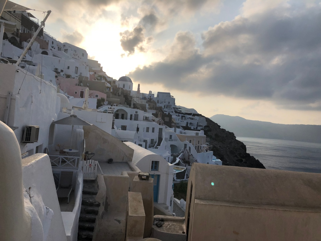 Sunrise (Oia, Santorini, Greece)