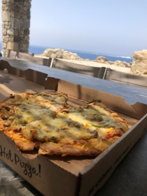 Veggie Pizza like no other (Mykonos, Greece)